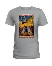 Formula 1 Choose Something Fun Ladies T-Shirt tile