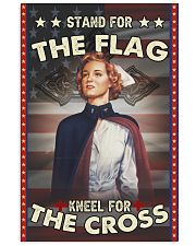 Nurse Stand For The Flag 24x36 Poster front
