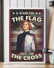 Nurse Stand For The Flag 24x36 Poster lifestyle-poster-4
