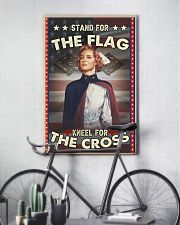 Nurse Stand For The Flag 24x36 Poster lifestyle-poster-7