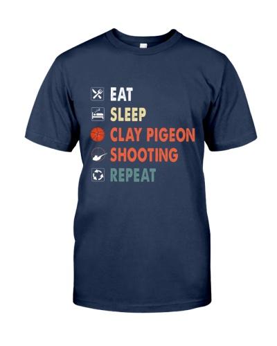 Clay Pigeon Shooting Vintage