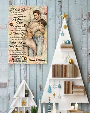 Gay Couple I Choose You 24x36 Poster lifestyle-holiday-poster-2