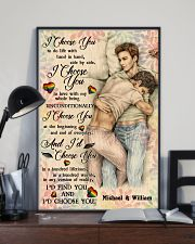 Gay Couple I Choose You 24x36 Poster lifestyle-poster-2