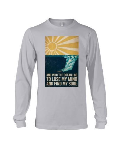 Swimming Into The Ocean I Go Yellow Sun