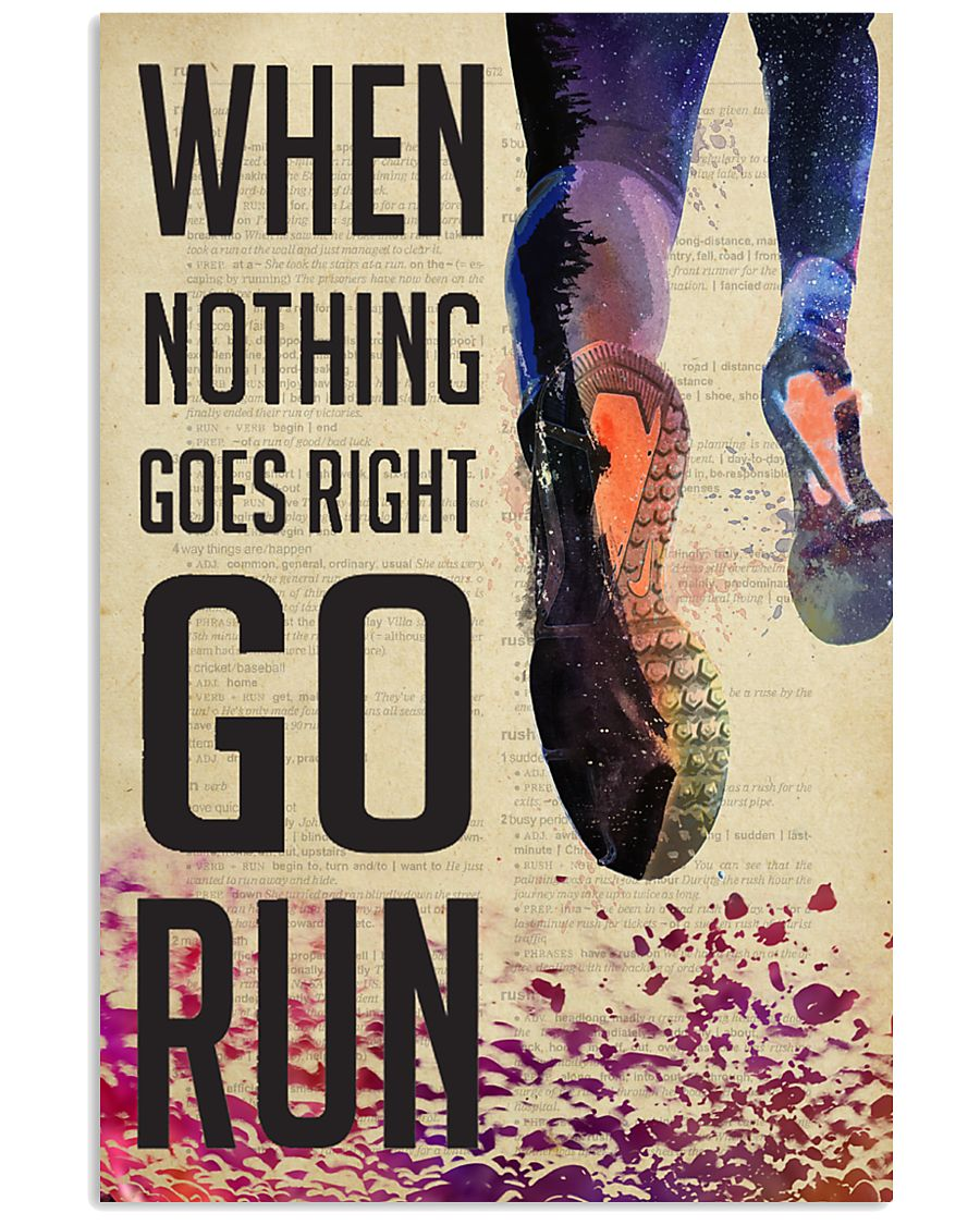 Running Dictionary  24x36 Poster