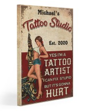 Tattoo Studio 20x30 Gallery Wrapped Canvas Prints thumbnail