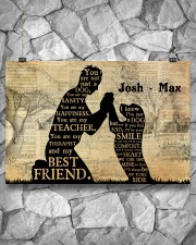 Boy And Dog Silhouette 36x24 Poster aos-poster-landscape-36x24-lifestyle-12