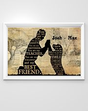Boy And Dog Silhouette 36x24 Poster poster-landscape-36x24-lifestyle-02