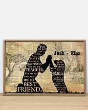 Boy And Dog Silhouette 36x24 Poster poster-landscape-36x24-lifestyle-03
