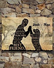 Boy And Dog Silhouette 36x24 Poster poster-landscape-36x24-lifestyle-15