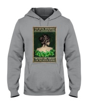Irish Girl Whispered Back Hooded Sweatshirt tile