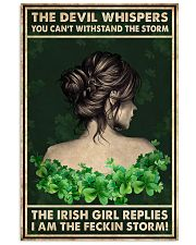 Irish Girl Whispered Back 24x36 Poster front