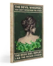 Irish Girl Whispered Back Gallery Wrapped Canvas Prints tile