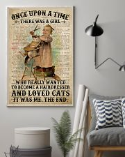 Hairdresser And Love Cats Girl  24x36 Poster lifestyle-poster-1