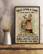 Hairdresser And Love Cats Girl  24x36 Poster lifestyle-poster-3