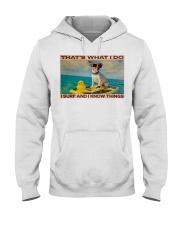 Jack Russel Surf Know Things Hooded Sweatshirt tile