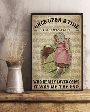 Girl Loved Cows  24x36 Poster lifestyle-poster-3