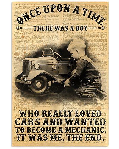 Boy Loved Cars And Wanted To Become A Mechanic