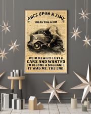 Boy Loved Cars And Wanted To Become A Mechanic  24x36 Poster lifestyle-holiday-poster-1