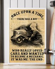 Boy Loved Cars And Wanted To Become A Mechanic  24x36 Poster lifestyle-poster-4
