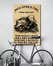 Boy Loved Cars And Wanted To Become A Mechanic  24x36 Poster lifestyle-poster-7