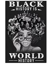 Black History Is World History 24x36 Poster front