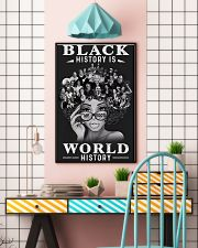 Black History Is World History 24x36 Poster lifestyle-poster-6