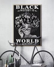 Black History Is World History 24x36 Poster lifestyle-poster-7