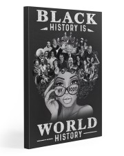 Black History Is World History 20x30 Gallery Wrapped Canvas Prints thumbnail