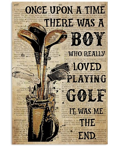 OUAT Boy Loved Playing Golf