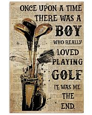 OUAT Boy Loved Playing Golf  24x36 Poster front
