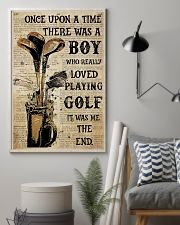 OUAT Boy Loved Playing Golf  24x36 Poster lifestyle-poster-1