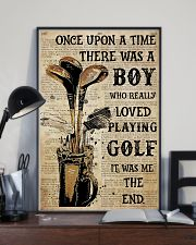 OUAT Boy Loved Playing Golf  24x36 Poster lifestyle-poster-2