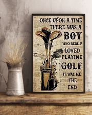 OUAT Boy Loved Playing Golf  24x36 Poster lifestyle-poster-3