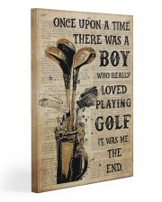 OUAT Boy Loved Playing Golf  20x30 Gallery Wrapped Canvas Prints thumbnail