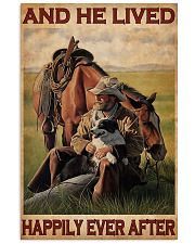 Cowboy Live Happily 24x36 Poster front