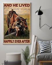Cowboy Live Happily 24x36 Poster lifestyle-poster-1