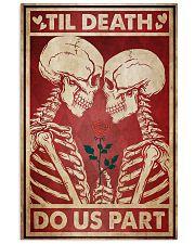 Skeleton Til Death Do Us Part 24x36 Poster front