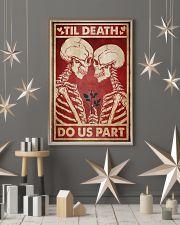 Skeleton Til Death Do Us Part 24x36 Poster lifestyle-holiday-poster-1