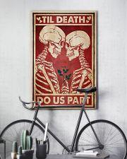 Skeleton Til Death Do Us Part 24x36 Poster lifestyle-poster-7