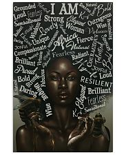I Am Black African 24x36 Poster front