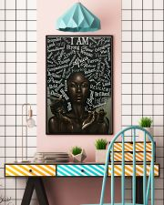 I Am Black African 24x36 Poster lifestyle-poster-6