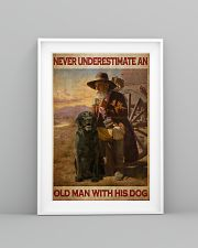 Old Man With Black Lab 24x36 Poster lifestyle-poster-5