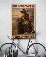Old Man With Black Lab 24x36 Poster lifestyle-poster-7
