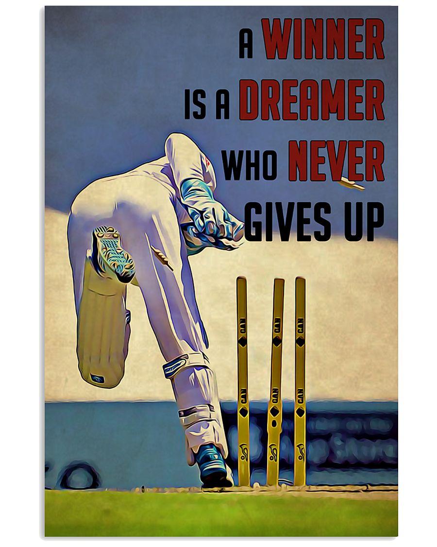 Cricket Winner 24x36 Poster
