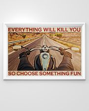 Riding Motorcycle Choose Something Fun 36x24 Poster poster-landscape-36x24-lifestyle-02