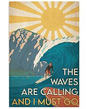 Surfing - The Waves Are Calling 24x36 Poster front