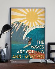 Surfing - The Waves Are Calling 24x36 Poster lifestyle-poster-2