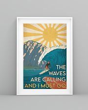 Surfing - The Waves Are Calling 24x36 Poster lifestyle-poster-5