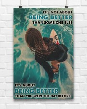 Surfing Girl Better Than You Were 24x36 Poster aos-poster-portrait-24x36-lifestyle-17